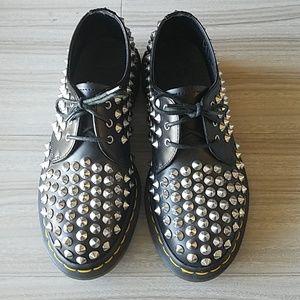 Dr. Martens Shoes - Dr. Martens Studded Black Leather shoes - Sz 6.5